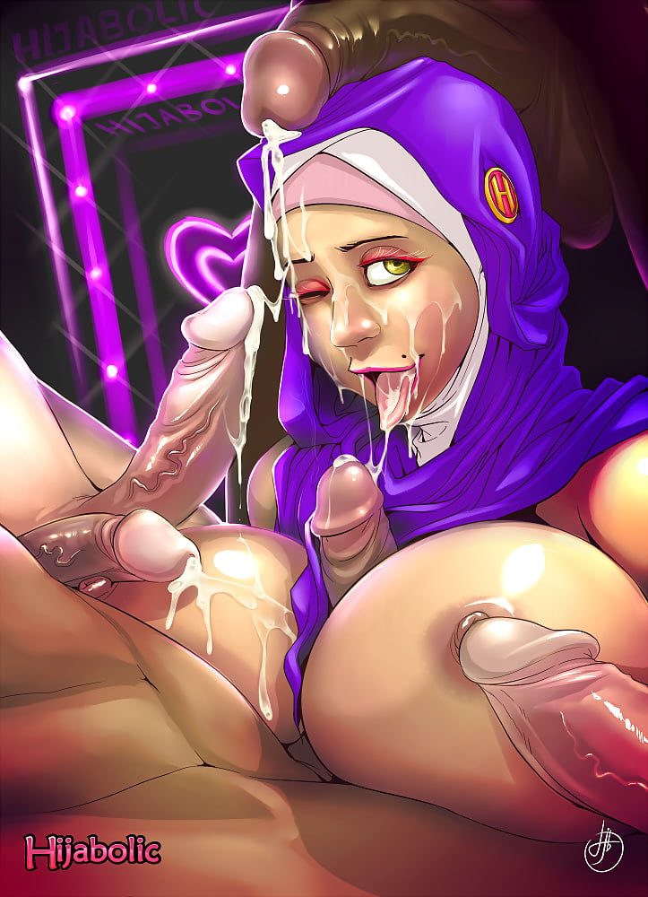 Hijab cartoon sex