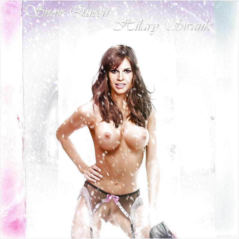 Hilary Swank Naked