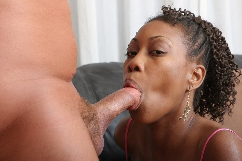 Black woman white cocks