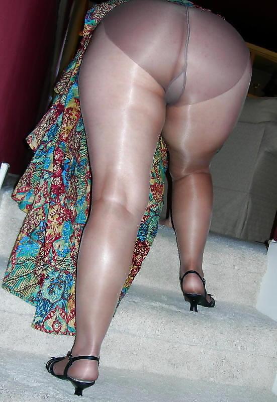 Bbw mature wife nylon panty