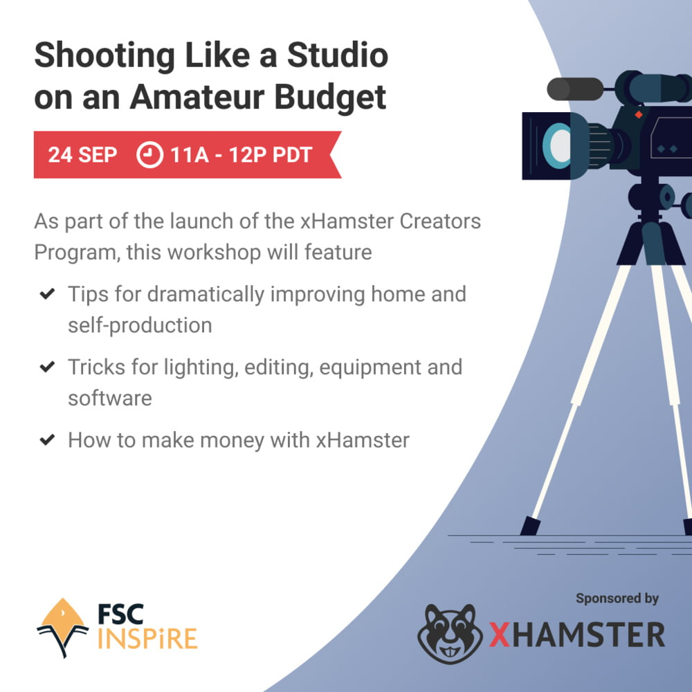xHamster Host Workshop on Self-Production