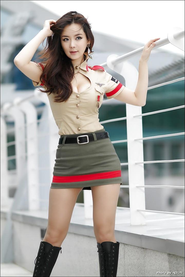 Plus size school girl uniform costume-1307