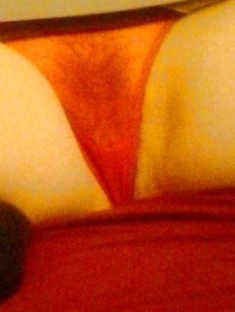 moglie lingerie rossa