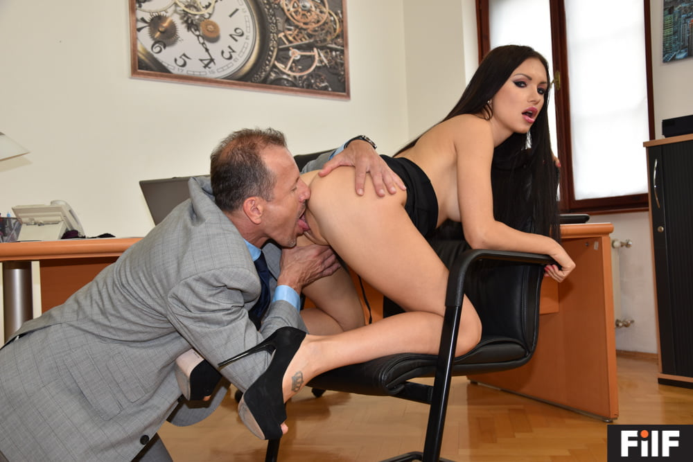 FILF - Sasha Rose Wants Her New Boobs Tested By Her Stepdad - 10 Pics