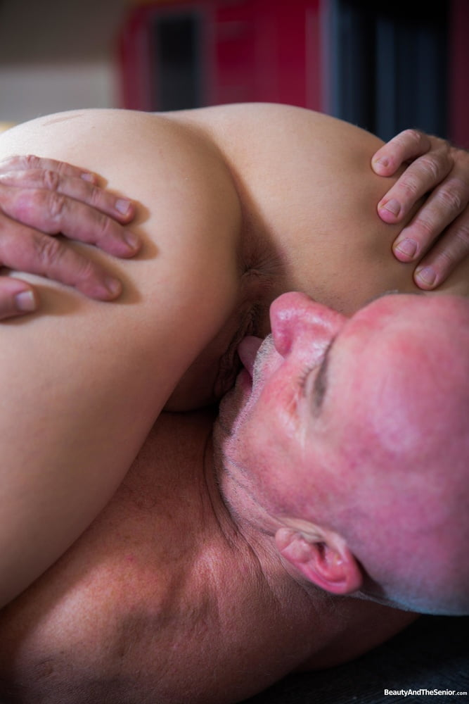 Old Cock in Tight Pussy Hole at BeautyAndTheSenior - 16 Pics
