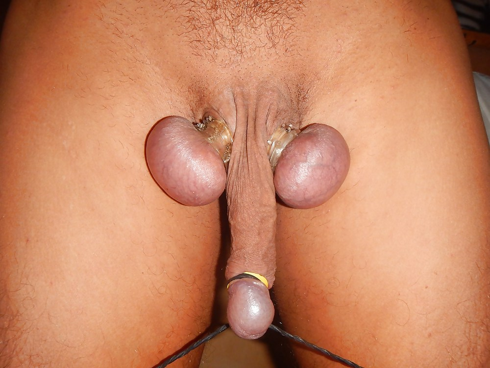 Femdom Castration Balls Are Cut Off