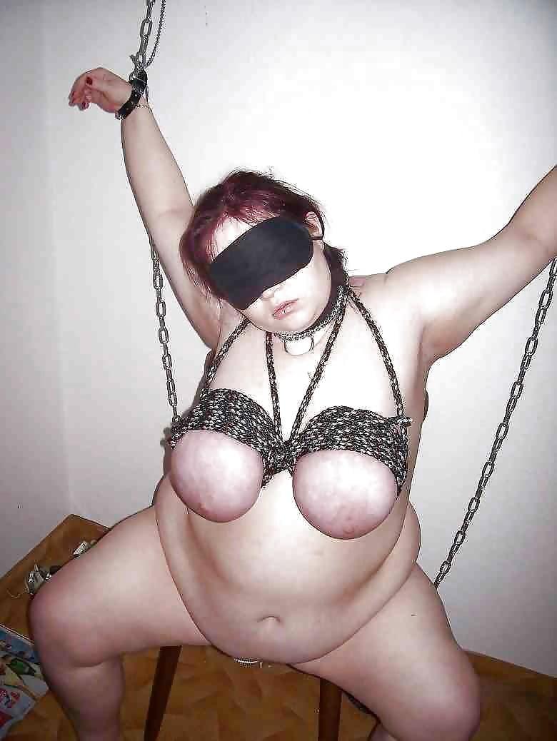 bondage Bbw tit