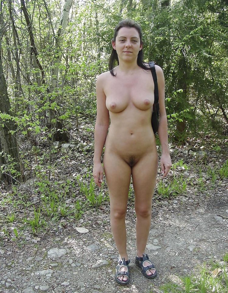 Nude amateurs outside — img 15