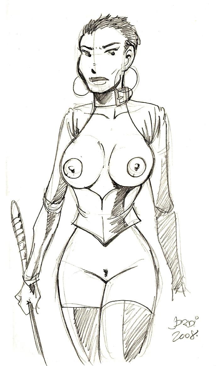20160902 warm up sketch - 3 part 4