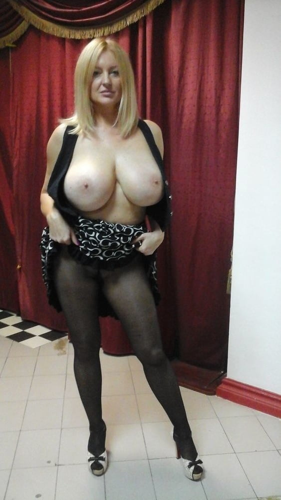 Mature british big boobs