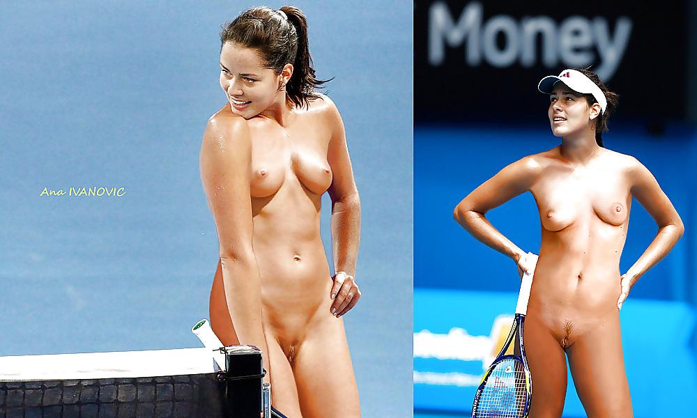 Tennis star naked