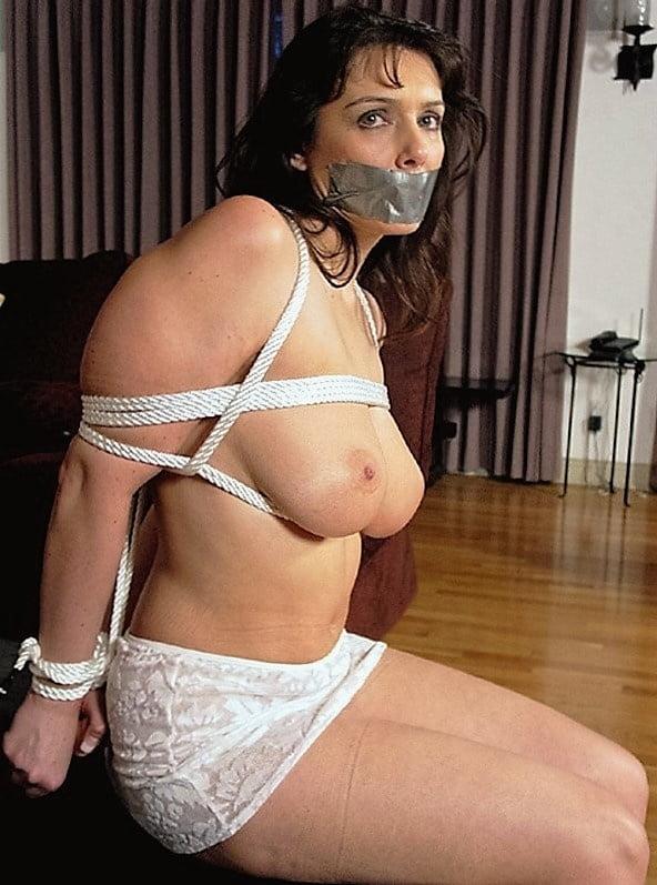 Erotic mom in bondage