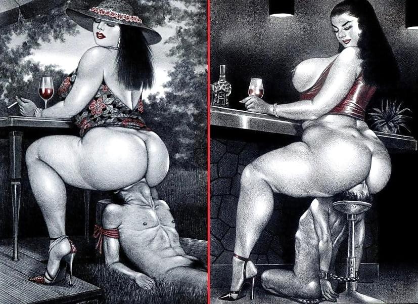 Big booty black cartoon-7102