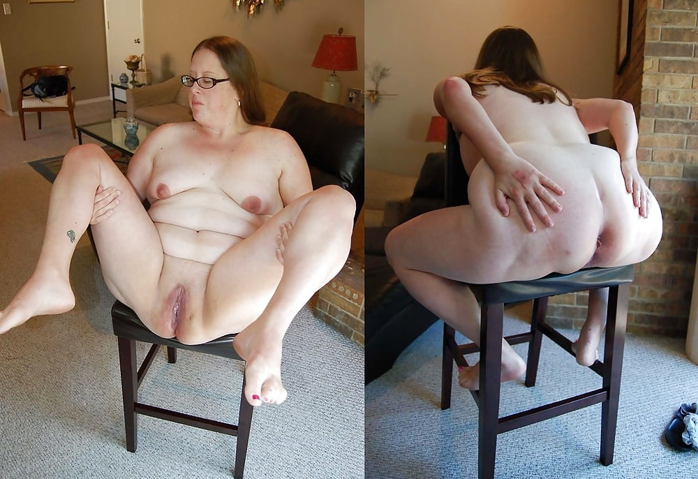Chubby With Big Boobs In Stockings