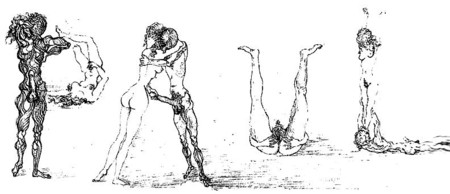 drawn ero and porn art    salvador dali for trex