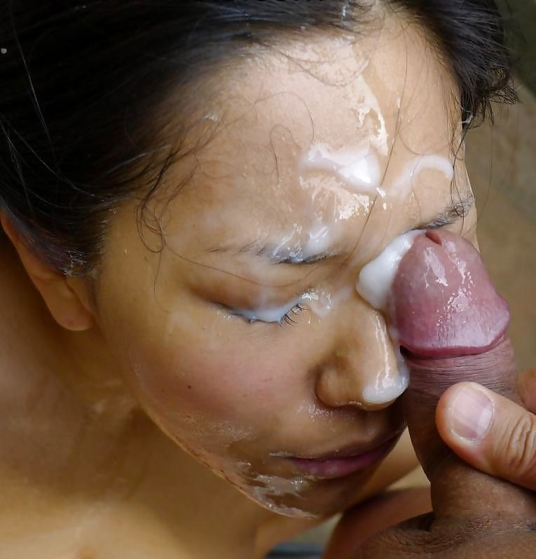 Amateur Asian Teen Gets Facial And Bukkake In Reality Groupsex