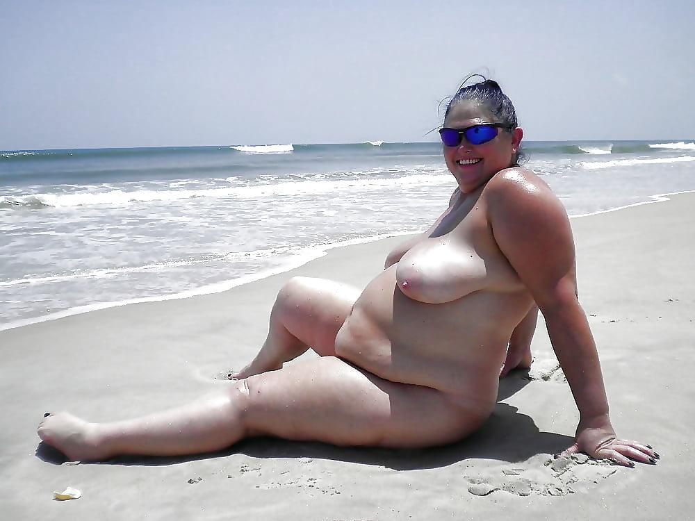 Blonde bbw on the beach, trini mobile porn