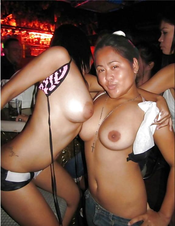 Filipina naked party