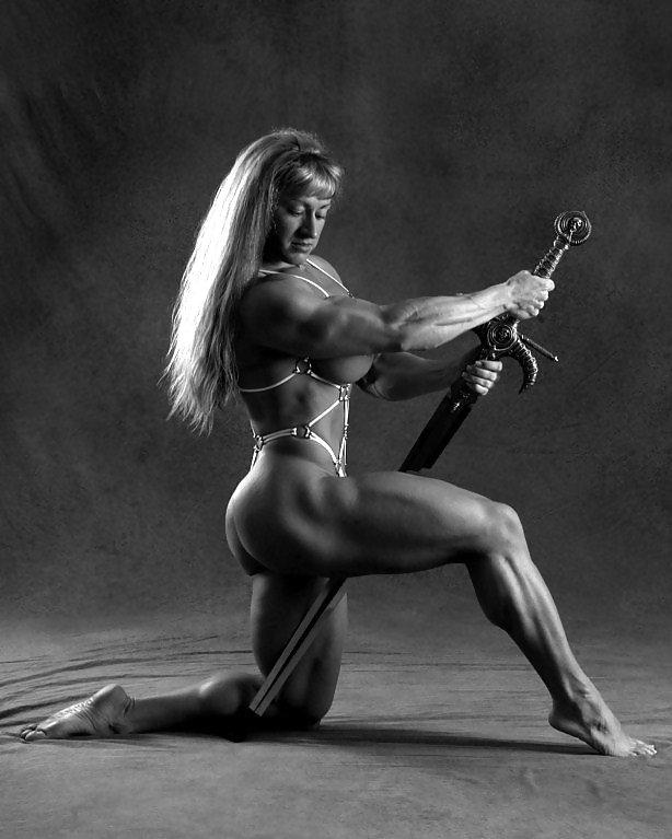 Nude Female Bodybuilders Photographic Prints