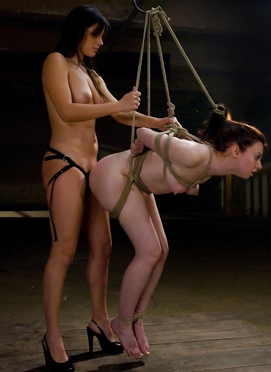 Whip and cane make the asian girl cry out in pain