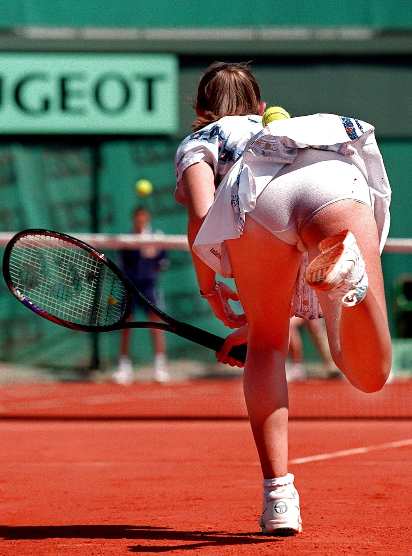 Free tennis upskirt