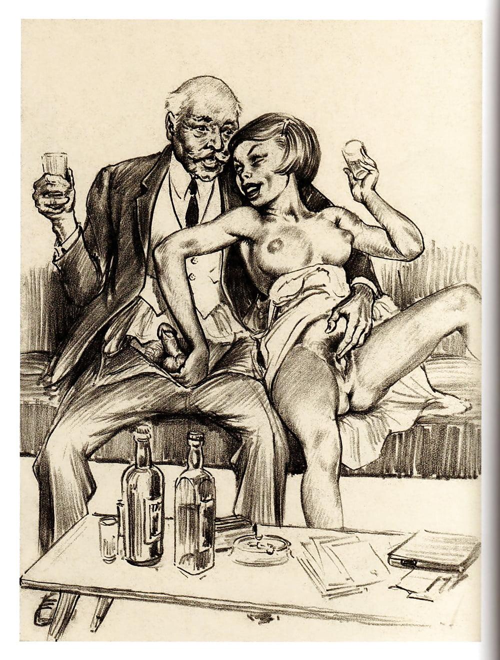 Ffm Mature Sex Drawings