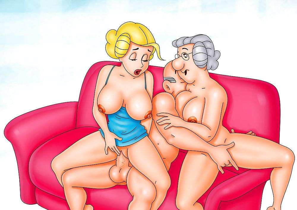 Latex sex cartoon