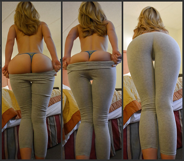 Hot naked women in yoga pants