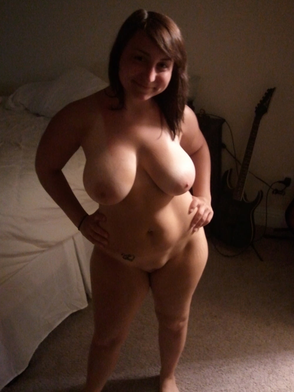 thick-busty-amateur-chubby-draining-cum-thumbs