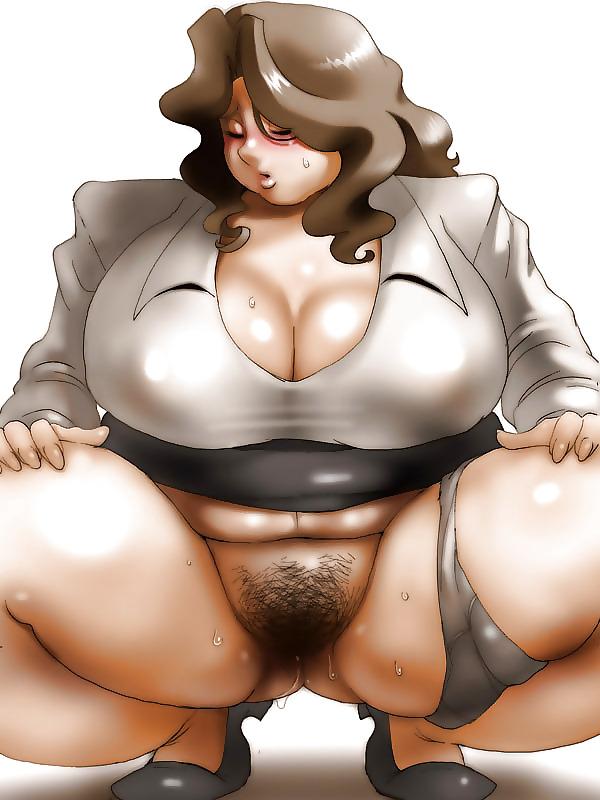 комикс толстушек порно