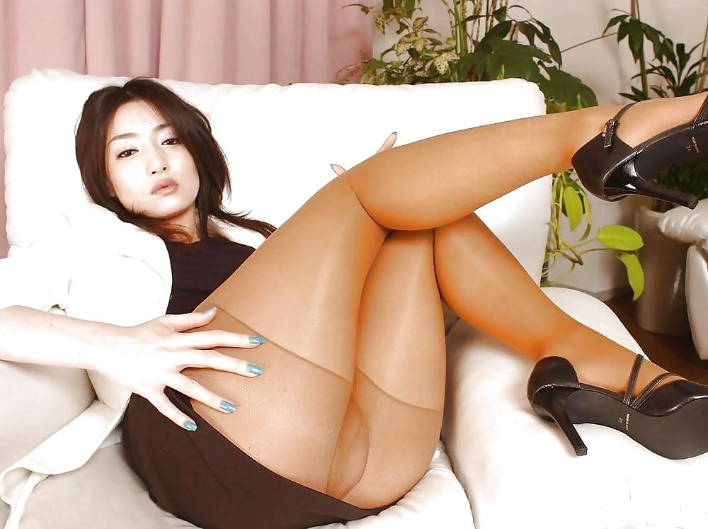 Asian pantyhose big tits