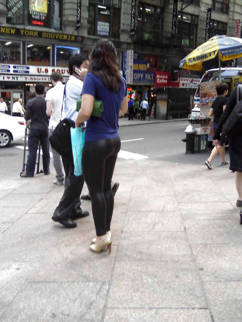 Really tight yoga pants