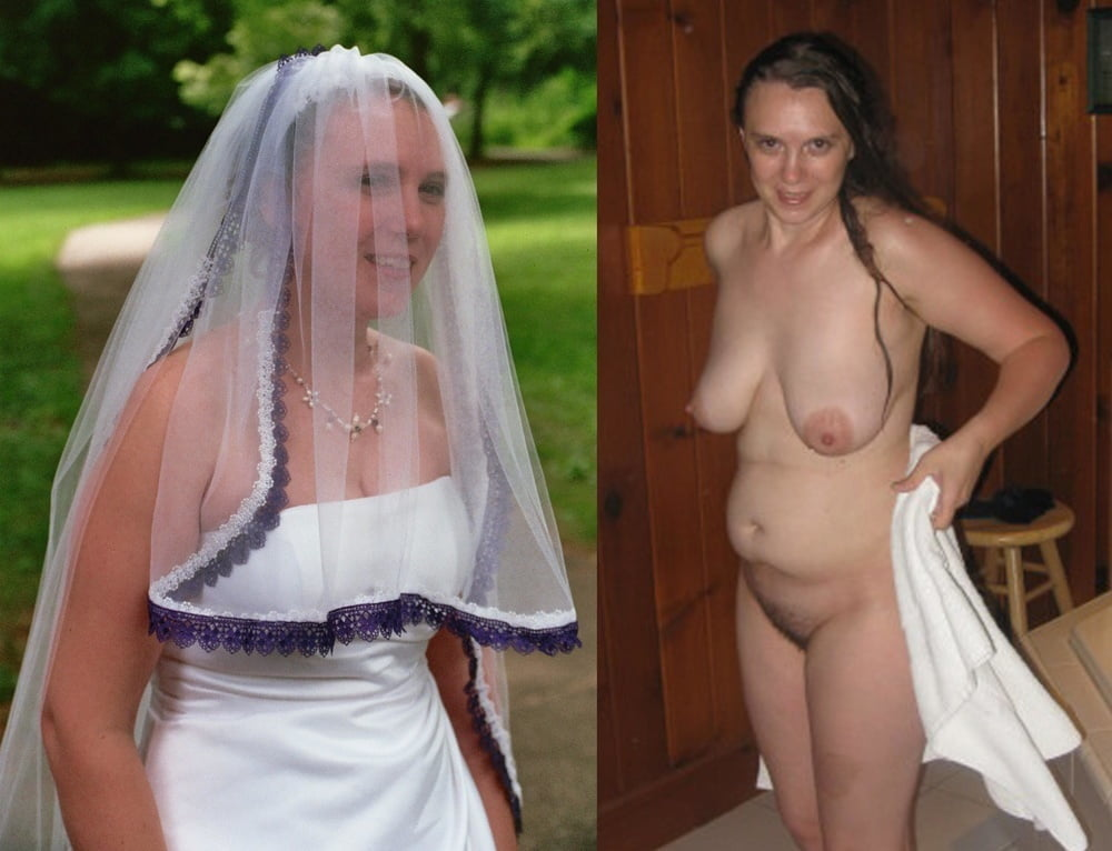 Bride dressed and nude photos