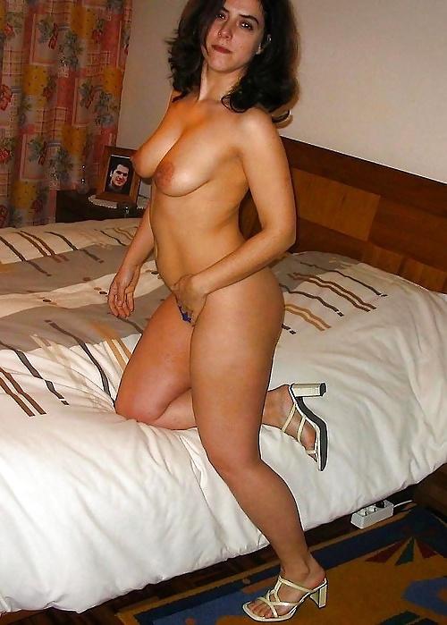 Spain Topless Mom