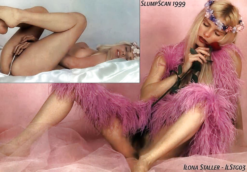 Naked ilona staller in voglia di donna ancensored