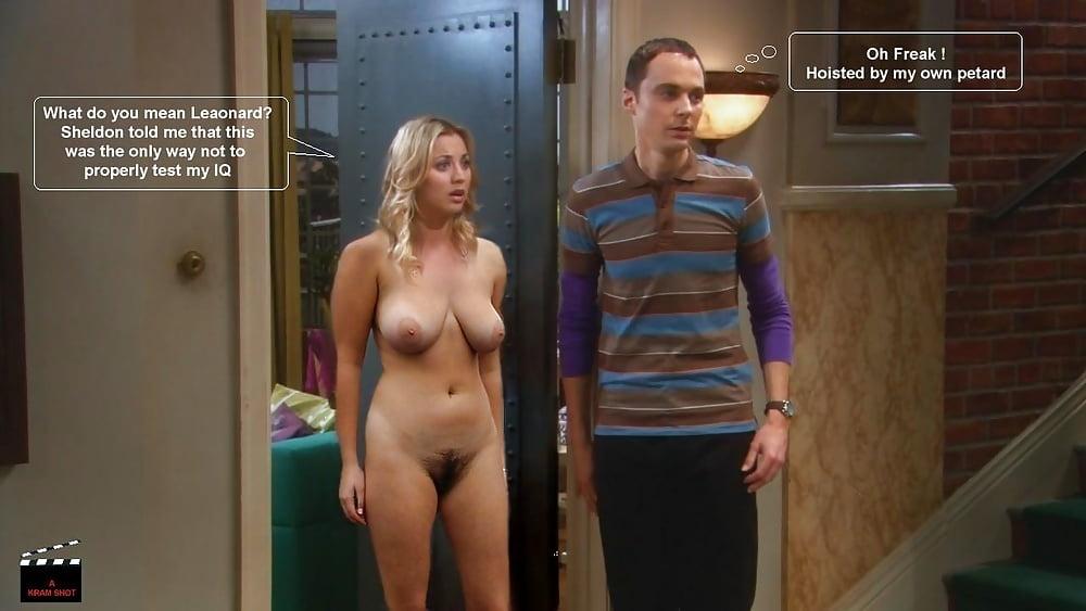 Penny big bang theory kaley cuoco nude