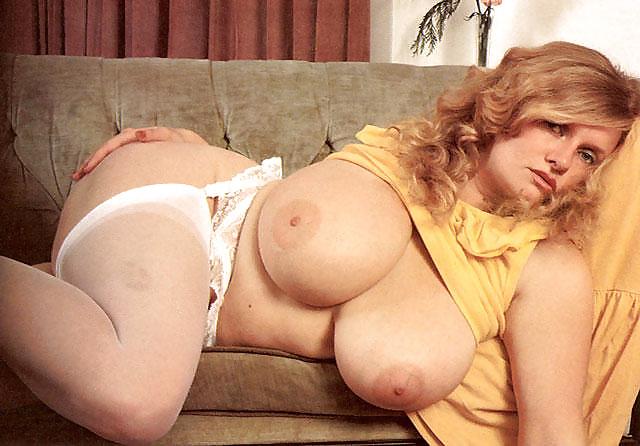 Mature big tits fat belly