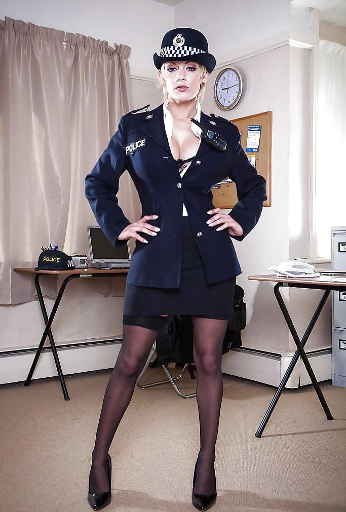 Horny women in uniforms — photo 7