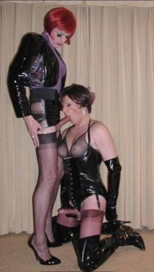 Crossdressing Boyfriend Chastity Belt Femdom