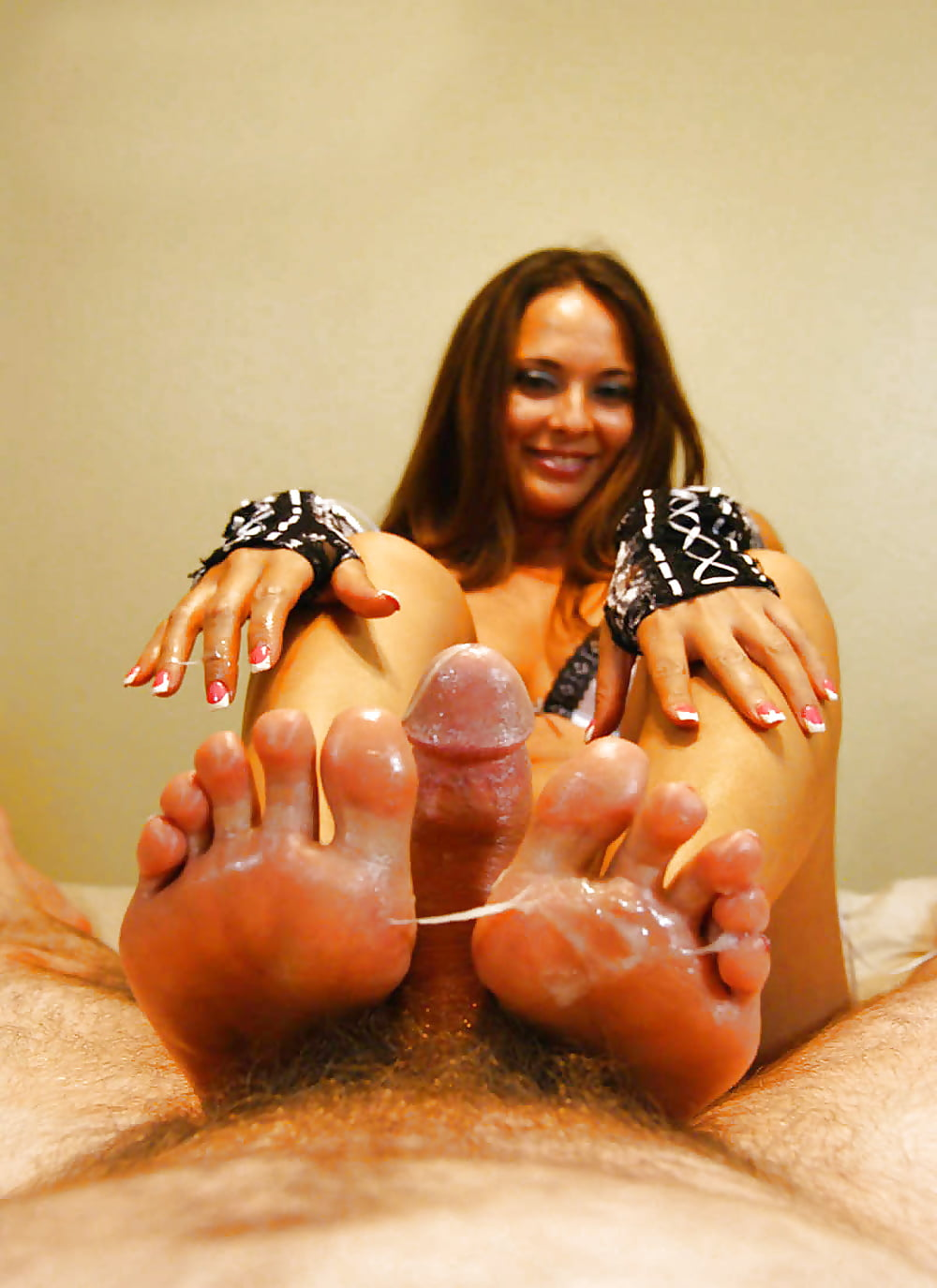 Foot fetish sex cam, military uniform girl