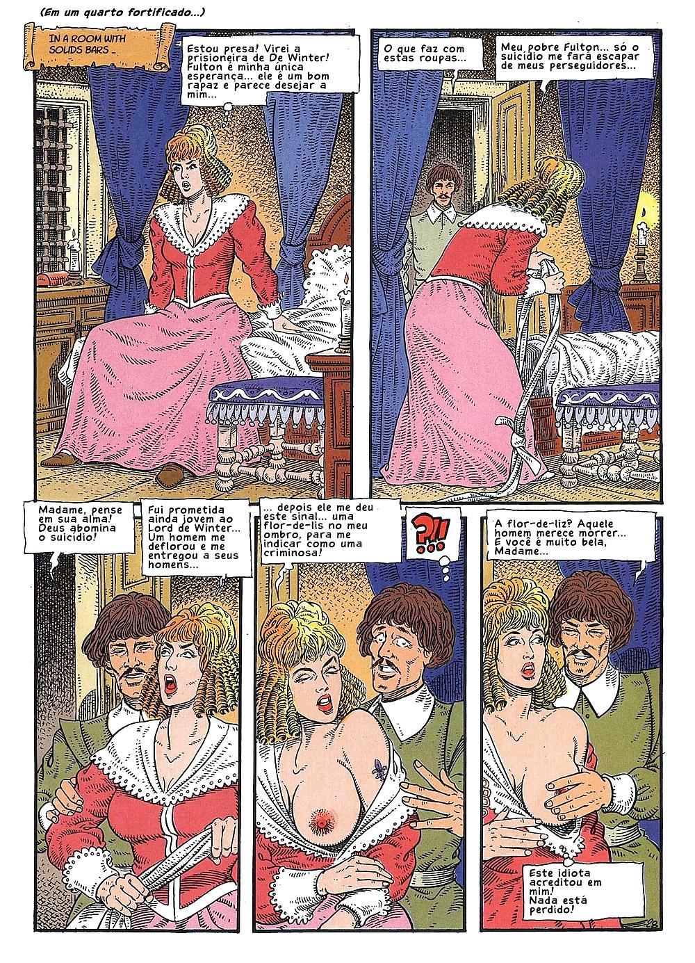 Три мушкетера в порно, порно ретро рыжих