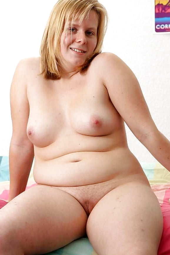 Naked blonde girl small tits