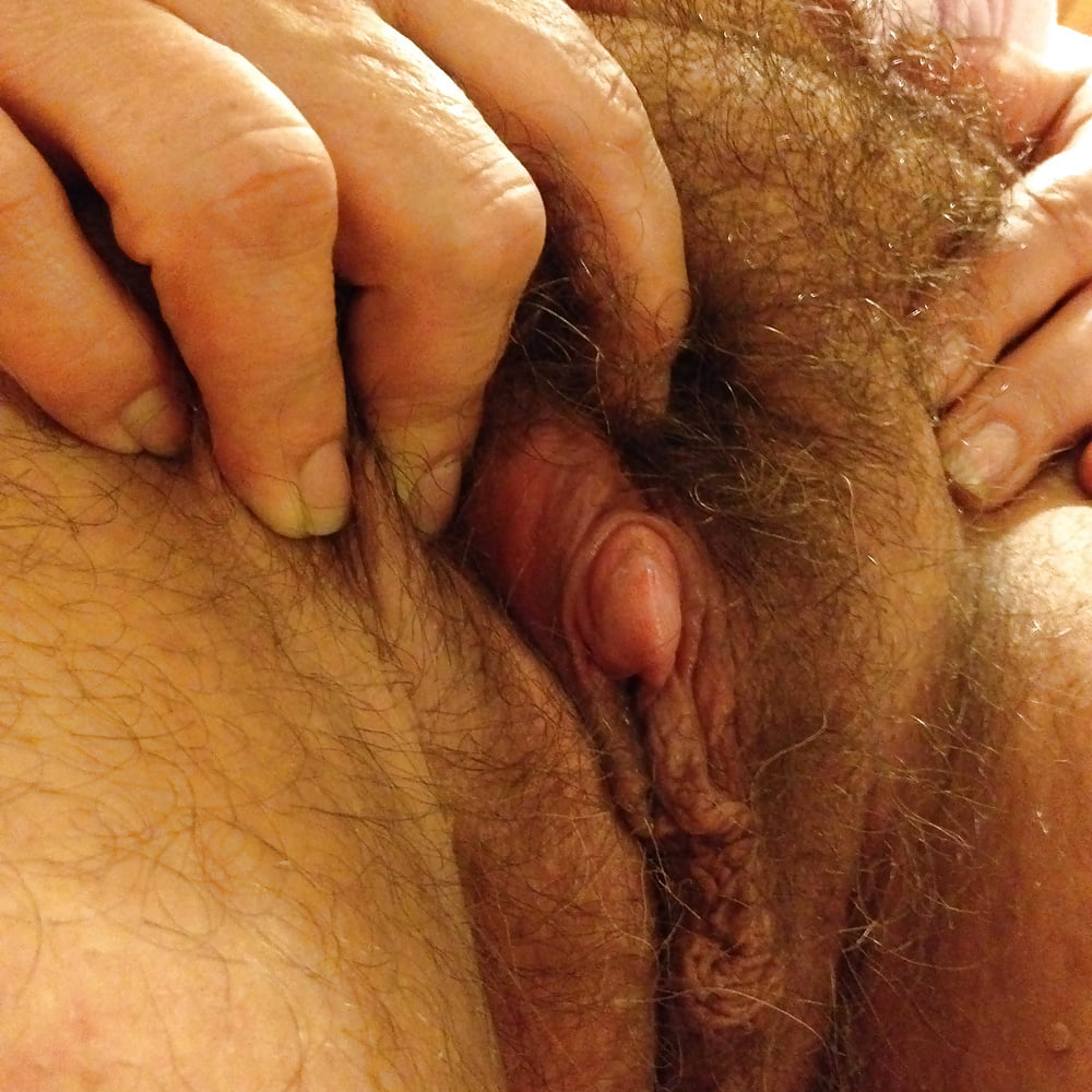 Big clit hairy pussy compilation
