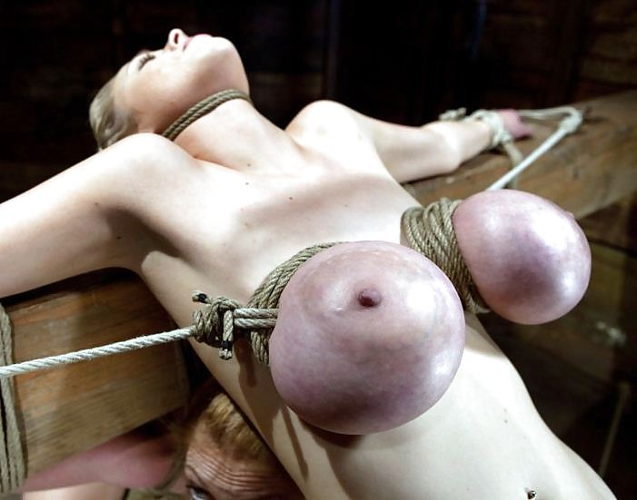 Tight breast bondage
