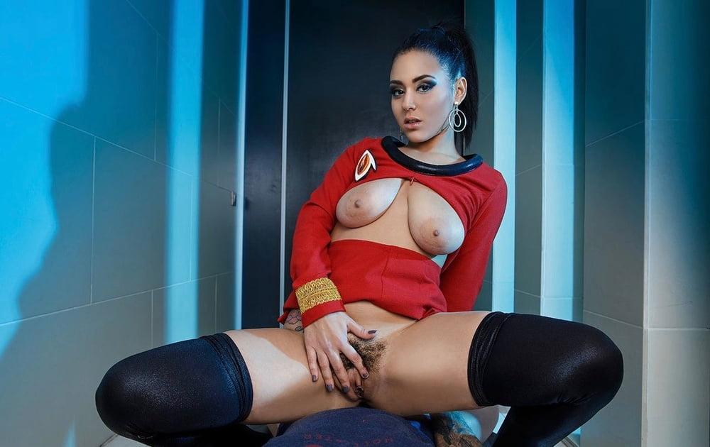 Star Trek Inspired Latex Wearing Babes