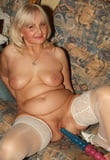 Selection of Grannies & matures  solo with their sex toys