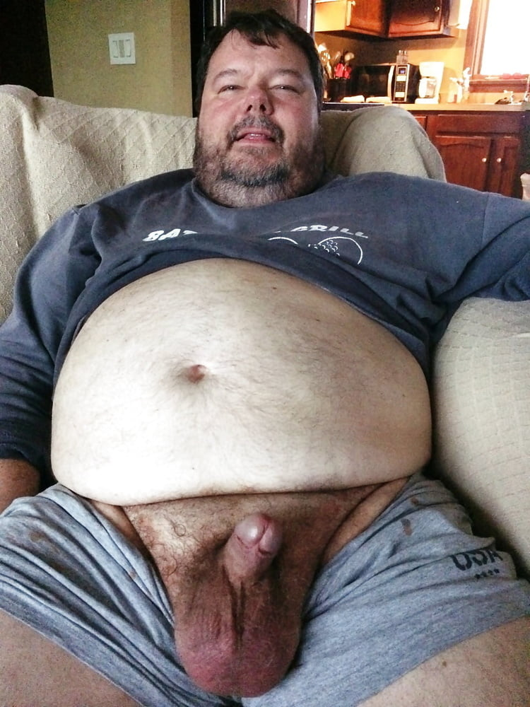 Fat naked men with big balls