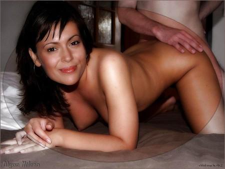 Hot big tits blonde milf in first porn