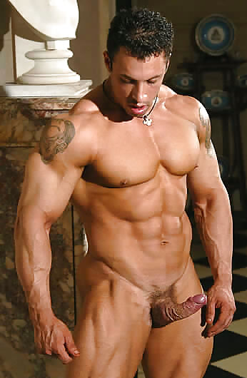 Nude workout with hot boy