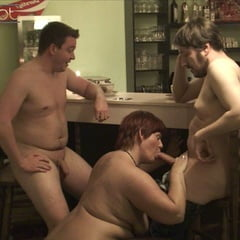 MILF Threesome After Work
